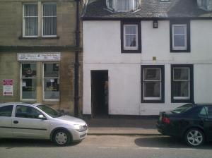 Site of Old Black Bull Inn